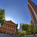 Faneuil Hall Square by Joann Vitali