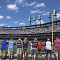 Fans Watching Tiger Game by John McGraw