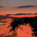Fantastic Space Sunset by Augusta Stylianou