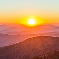 Fantastic Sunset In The Great Smoky Mountains by Pierre Leclerc Photography