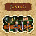 Fantasy Button by Mike Savad