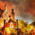 Fantasy Castle by George Rossidis