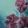 Fantasy Floral by D L Gerring