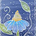 Fantasy Flower 1 by Sandy Rosen