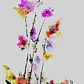 Fantasy Flowers by Henning Mogen