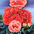 Fantasy Flowers by Janis  Tafoya