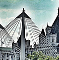 Fantasy London . Old Spires New by Connie Handscomb