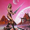 Fantasy Warrior Princess by Sam Loveless