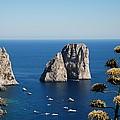 Faraglioni In Capri by Dany Lison