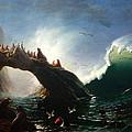 Farallon Island by Albert Bierstadt