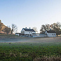 Farm At Valley Forge In Morning by Bill Cannon