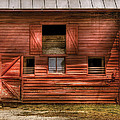 Farm - Barn - Visiting The Farm by Mike Savad