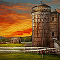 Farm - Barn - Welcome To The Farm  by Mike Savad