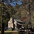 Farm Cabin Cades Cove Tennessee by Douglas Barnett