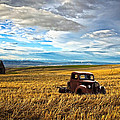Farm Field Pickup by Steve McKinzie