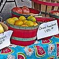 Farm Fresh Produce At The Farmers Market by JW Hanley