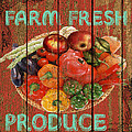 Farm Fresh Produce by Jean PLout
