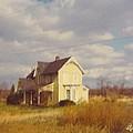 Farm House And Landscape by Robert Floyd