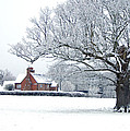 Farm House And Oak Tree by Ben Bassey
