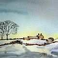 Farm In N.e Yorkshire by Jean Walker
