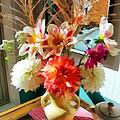Farm Table Bouquet by Michelle Calkins