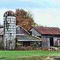 Farm - The Old Barn by Paul Ward