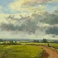 Farm Track Kent by Fiona Hooper