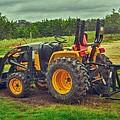 Farm Tractor by Kristina Deane