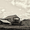 Farm Truck - 1941 Chevy In Sepia by Bill Cannon