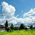 Farm Vista by Susan Savad