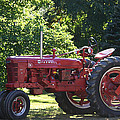 Farmall's End Of Day by Denyse Duhaime