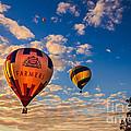 Farmer's Insurance Hot Air Ballon by Robert Bales