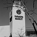 Farmers Market Bw by Scenic Sights By Tara