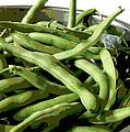 Farmers Market Green Beans by Ann Powell