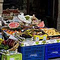 Farmers Market Segovia by Lorraine Devon Wilke