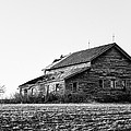farmhouse in spring - Old Barns by Gary Heller