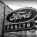 Farming - Ford Tractors by Paul Ward