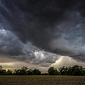 Farmland Storm by Rebecca Bayer
