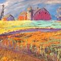 Farmland Sunset by Terri Einer