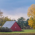 Farmstead With Fall Colors by Paul Freidlund