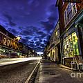 Farnham West St By Night by Rob Hawkins