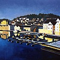 Farsund In Winter by Janet King