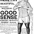 Fashion Corset, 1890 by Granger