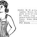 Fashion Corset, 1895 by Granger