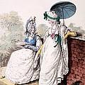 Fashion Plate Of Ladies Morning Dress by English School