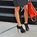 Fashion Week Shoes by Diane Lent