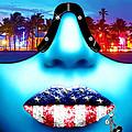 Fashionista Miami Blue by Jan Raphael