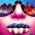 Fashionista Miami Pink by Jan Raphael