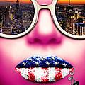 Fashionista New York Pink by Jan Raphael
