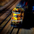 Fast Moving Train by Karen Kersey